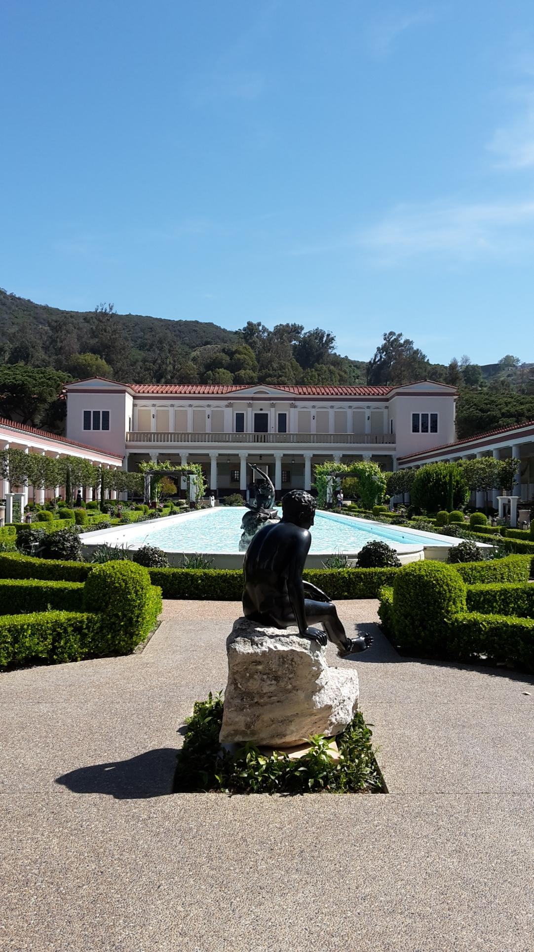 La Getty Villa à Malibu