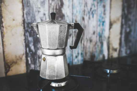 vintage moka espresso coffee pot maker